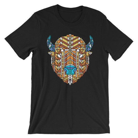 Glass Buffalo - Short-Sleeve Unisex T-Shirt