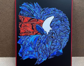 """Process - Wall Plaque - 8x10"""" - Ready to hang"""