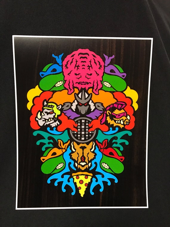 Evolution - by Cryptic Crayon - 11x14 limited 2016 print!