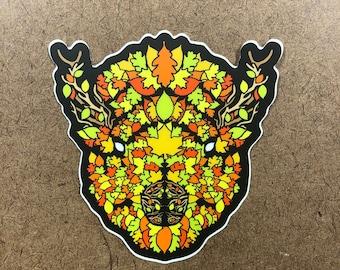 Falling - Buffalo Themed Die Cut Sticker
