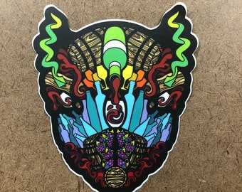 Pour Decision - Buffalo Themed Die Cut Sticker