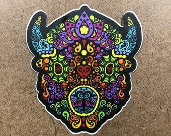 5.5 - Buffalo Themed Die Cut Sticker