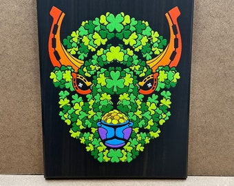 """Lucky - Wall Plaque - 8x10"""" - Ready to hang"""