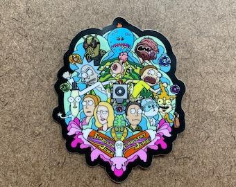 Existence is Pain - Die Cut Sticker
