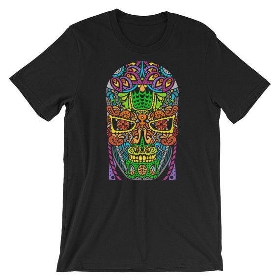Sugar Skullminator - Short-Sleeve Unisex T-Shirt