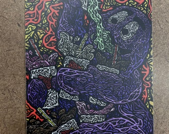 Addict - Die Cut Sticker