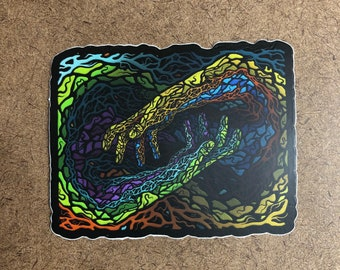 Instinct - Die Cut Sticker