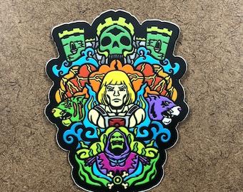 Masters - Die Cut Sticker