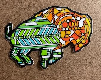 Glass Two - Die Cut Sticker