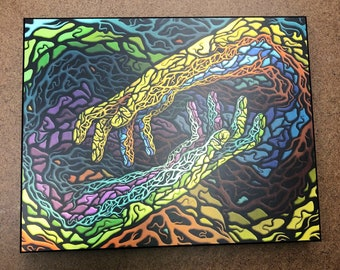 Instinct - SPECIAL EDITION Metallic Print Float Plaque (ready to hang)