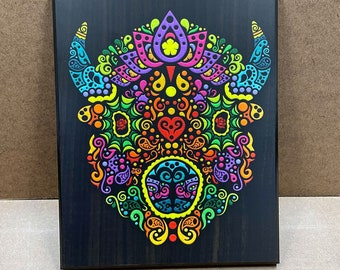 """5.5 - Wall Plaque - 8x10"""" - Ready to hang"""