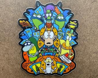 Mr. Sensible - Die Cut Sticker