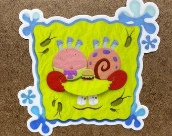 Absorbing Friendship - Die Cut Sticker