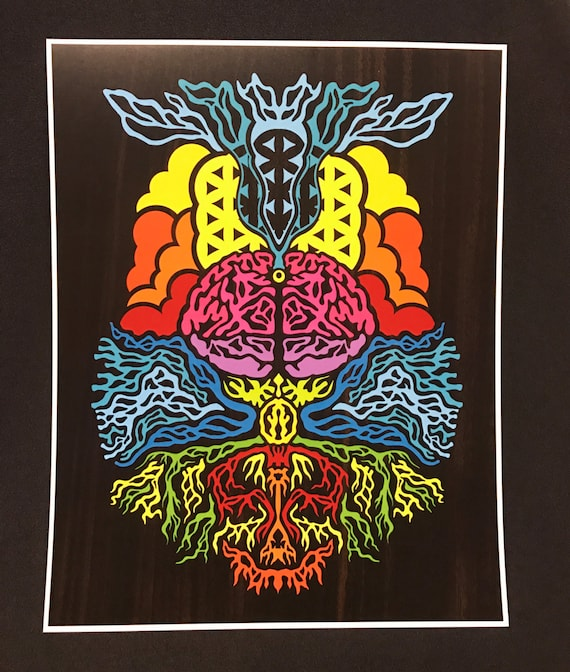 Genesis - by Cryptic Crayon - 11x14 limited 2016 print!