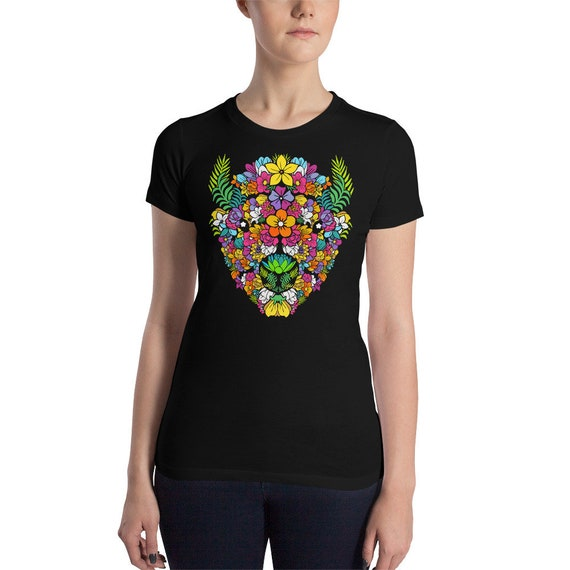 In Bloom - Women's Slim Fit T-Shirt