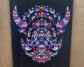 """Mafia - Wall Plaque - 8x10"""" - Ready to hang"""