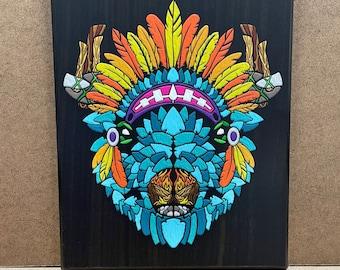 "Arrowhead - Wall Plaque - 8x10"" - Ready to hang"
