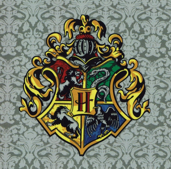 Hogwarts Alumni DIY Iron Sew On Embroidered Patch Embroidery Badge fan art