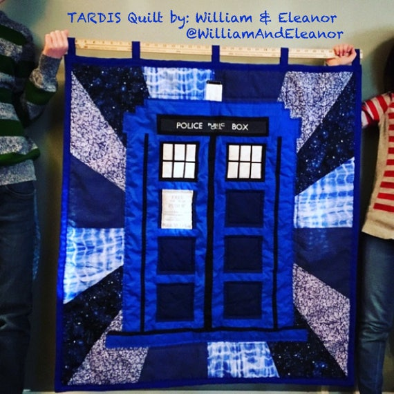 Large Tardis Sign Fabric Police Public Call Box For Doctor Etsy