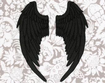 Angel Wings: Supernatural fabric print