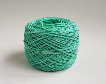 Pastel Green cotton yarn