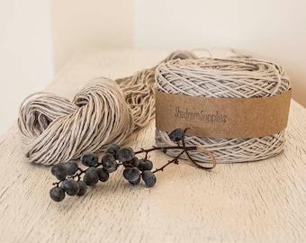 Smooth cotton yarn,Soft ,Cream Beige yarn