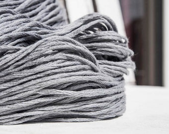 Smooth cotton yarn,Soft GRAY yarn