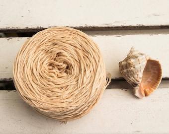 Smooth cotton yarn,Soft Caramel