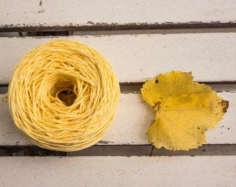 Smooth cotton yarn,Soft ,Yellow Soft Cotton yarn