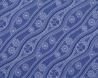 Stars In The Sky, Purple, An Authentic Aboriginal Fabric