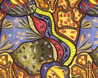 Bambillah, Authentic Aboriginal Fabric