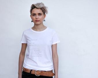 Rock N Roll definition Tee- Kult Designs-White Alternative Apparel-Music inspired t-shirt mother sister friend gift