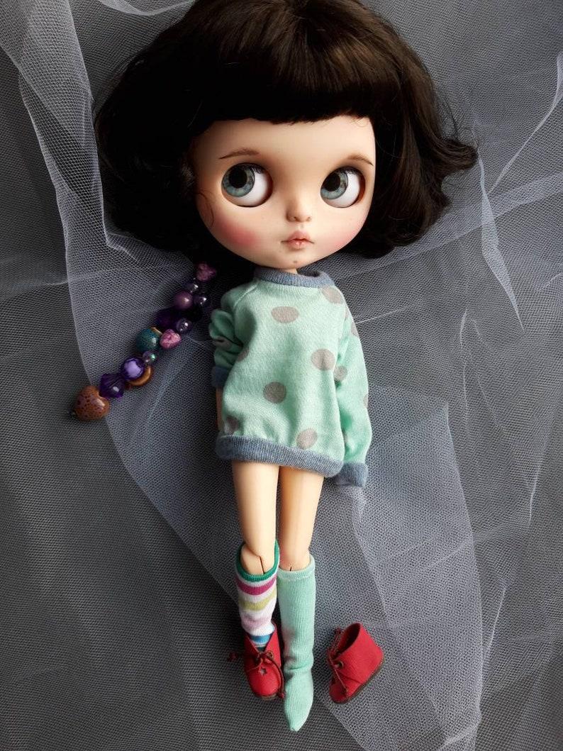 Hoodie and socks set for Blythe doll