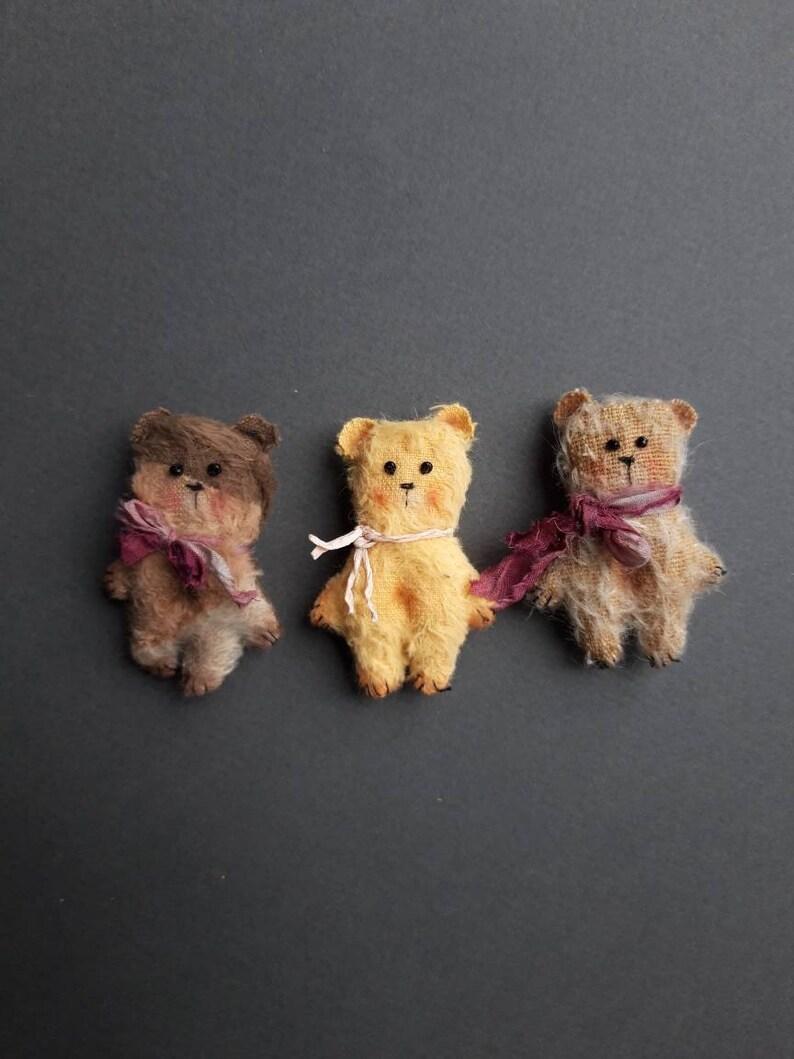Muichan Holala Teddy bear pet for Blythe Pullip Licca