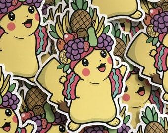 PikaChiquita Sticker