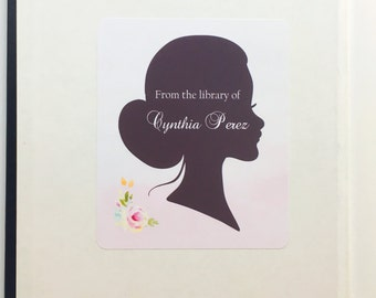 Bookplate Labels- Peel and Stick- Bookplate- Stickers