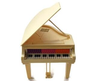 1981 Barbie Electronic Grand Piano, Vintage Piano Toy, Mattel Barbie Electronic Piano, Barbie Doll Collectibles