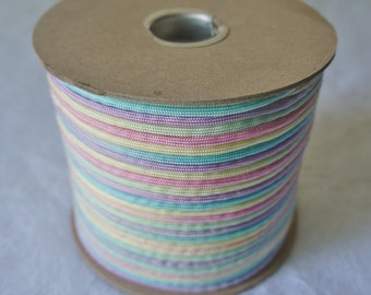 100 Feet 80/'s Girl Hand Dyed Paracord pastel paracord ombre paracord pastel shades