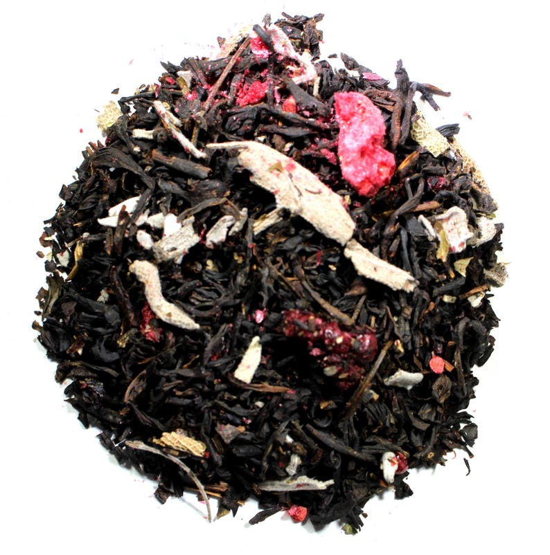Blackberry Sage Black Tea  Black Loose Leaf Tea image 0