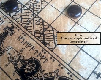 Viking board games Tafl (Hnefatafl) and Nine Man Morris Free domestic shipping