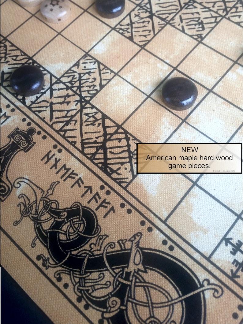 Viking board games Tafl Hnefatafl and Nine Man Morris Free image 0