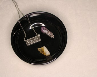 Moth Moon Necklace