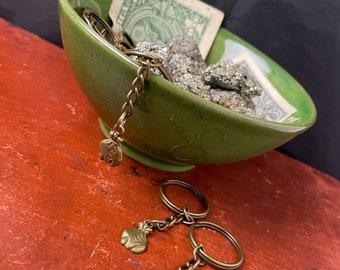 Money Bag Keychain, Manifestation