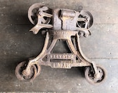 Myers Unloader Pulley Hay Trolley Barn Unloader Rustic Farm Country Barn Pulley Cloverleaf Hay Trolley