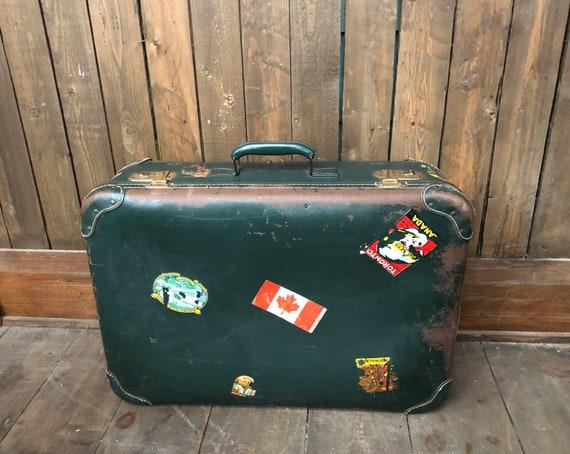 Travel Suitcase || Vintage Suitcase || Suitcase wi
