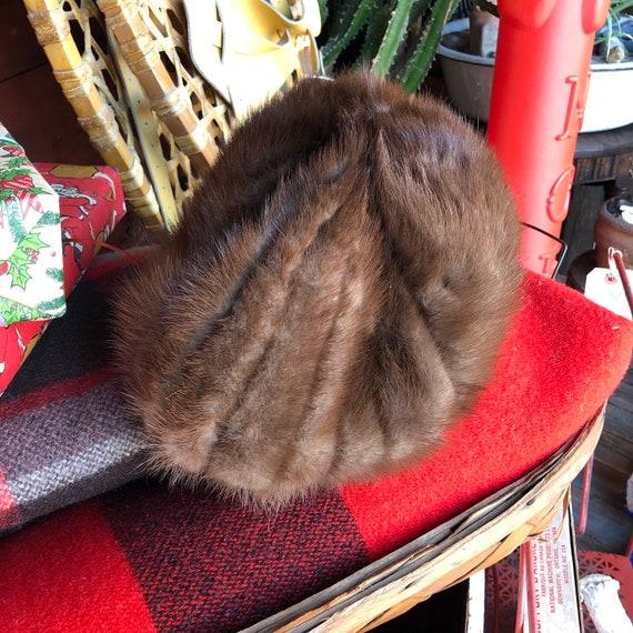 Mink Winter Hat || Mink Tail Winter Hat || Womens
