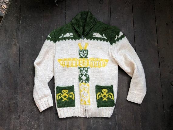 Cowichan Sweater || Native Cowichan Sweater || Tot