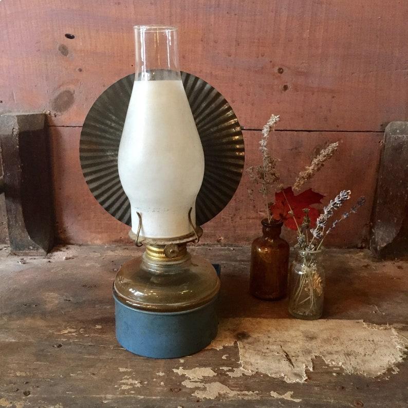 Wall Mount Oil Lamp