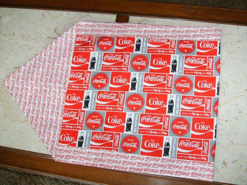 Coke Reversible Table Runner