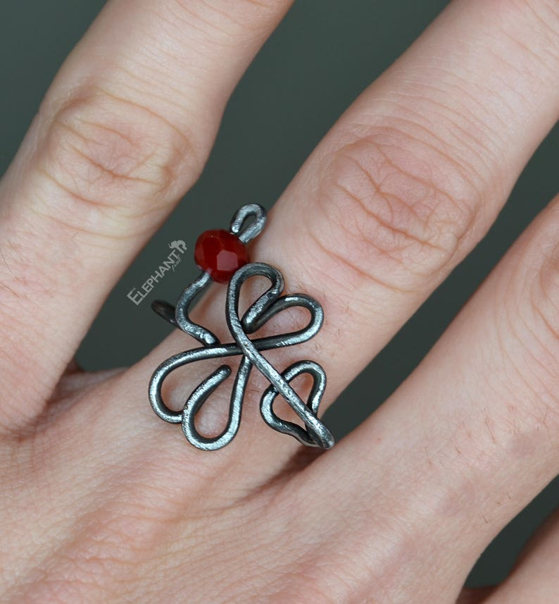 Witch Ring Finger Claws Knuckle Rings Gothic Jewelry Love Arrow Ring Nail Claws Black Iron Ring Witchy Claw Ring Set